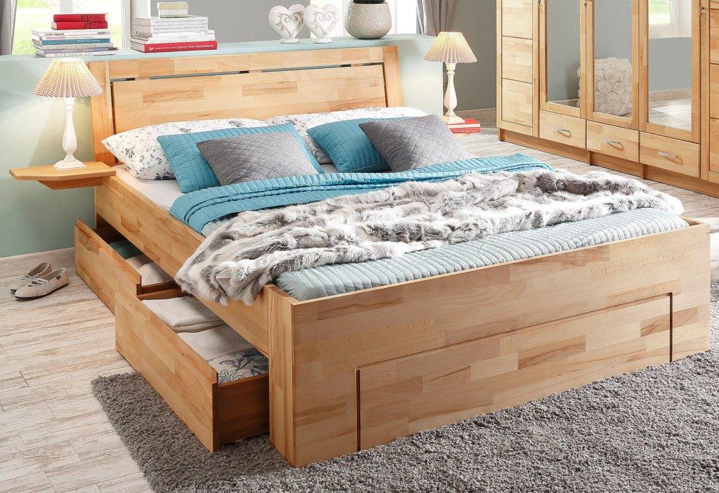 erfahrung stauraumbett home affair 180x200 cm natur im gro en vergleich 2017. Black Bedroom Furniture Sets. Home Design Ideas