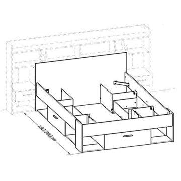 erfahrung stauraumbett mit regalwand weiss im gro en vergleich 2017. Black Bedroom Furniture Sets. Home Design Ideas